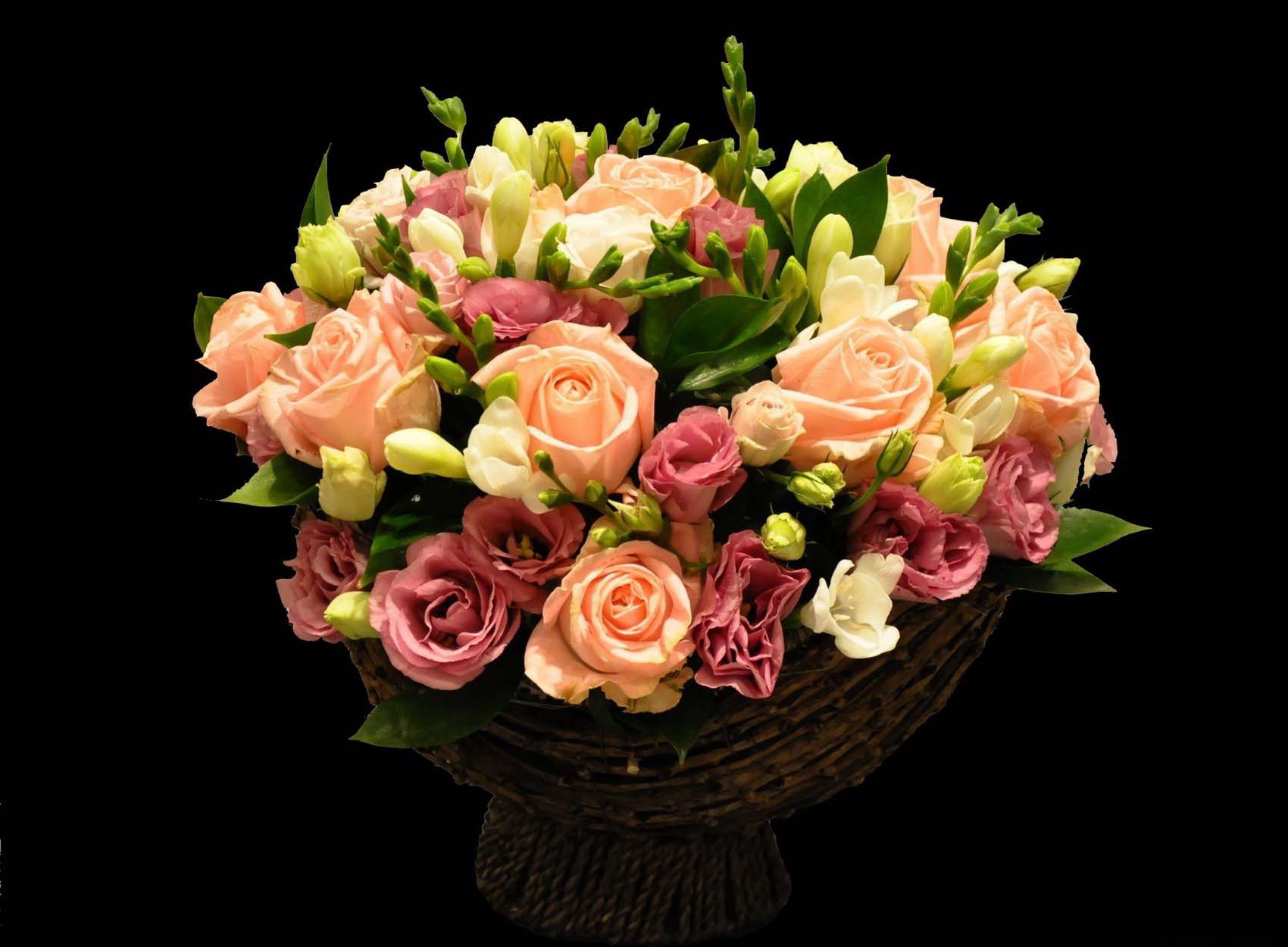 свадебные подушечки для колец из цветов фото