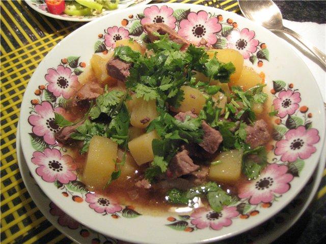 рецепты салатов с жареной говядиной