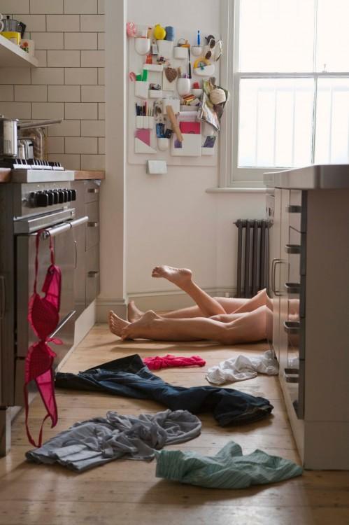 239Анал на кухонном столе