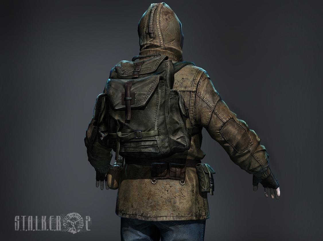 Кожаная куртка сталкер