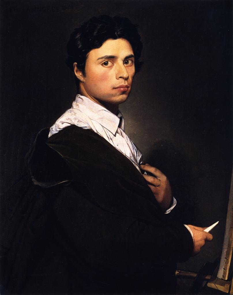 """""""Лучший способ обладать женщиной - это писать ее."""" Жан Огюст Доминик Энгр (1780-1867)"""