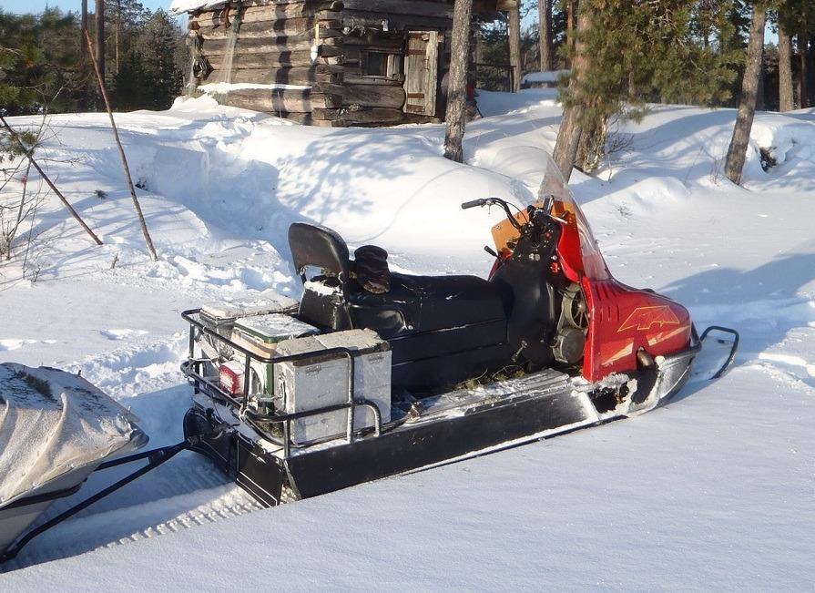 Багажник для снегохода буран