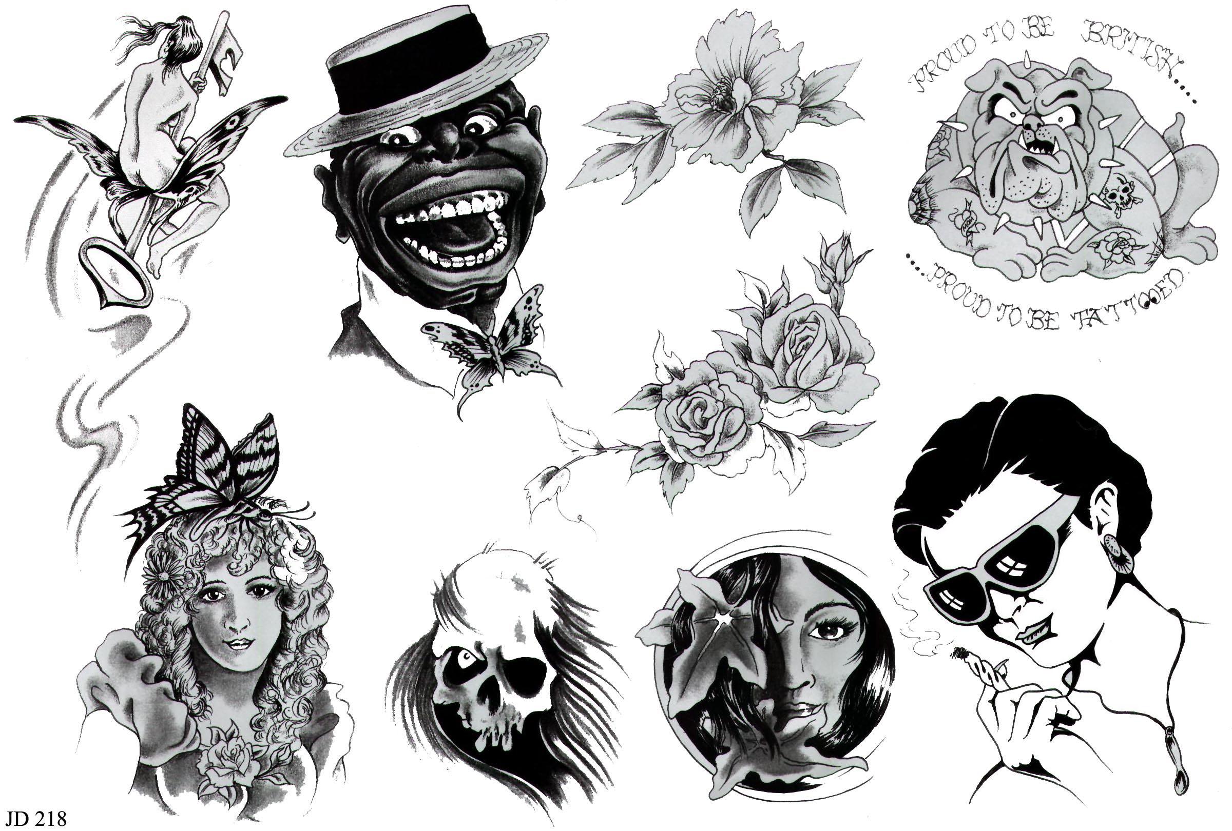 рисунки тату татуировок
