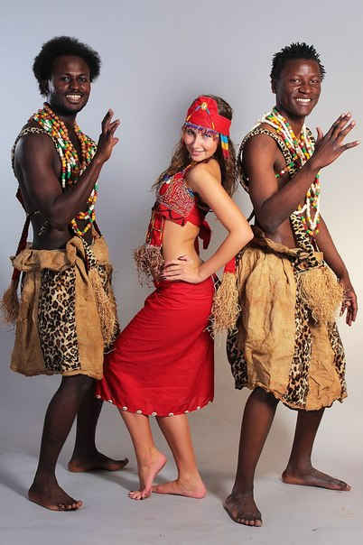 Африканский костюм своими руками фото