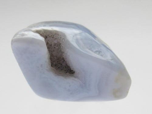 Энергия камней № 93 Голубой халцедон (Окатанный камень) фото, обсуждение