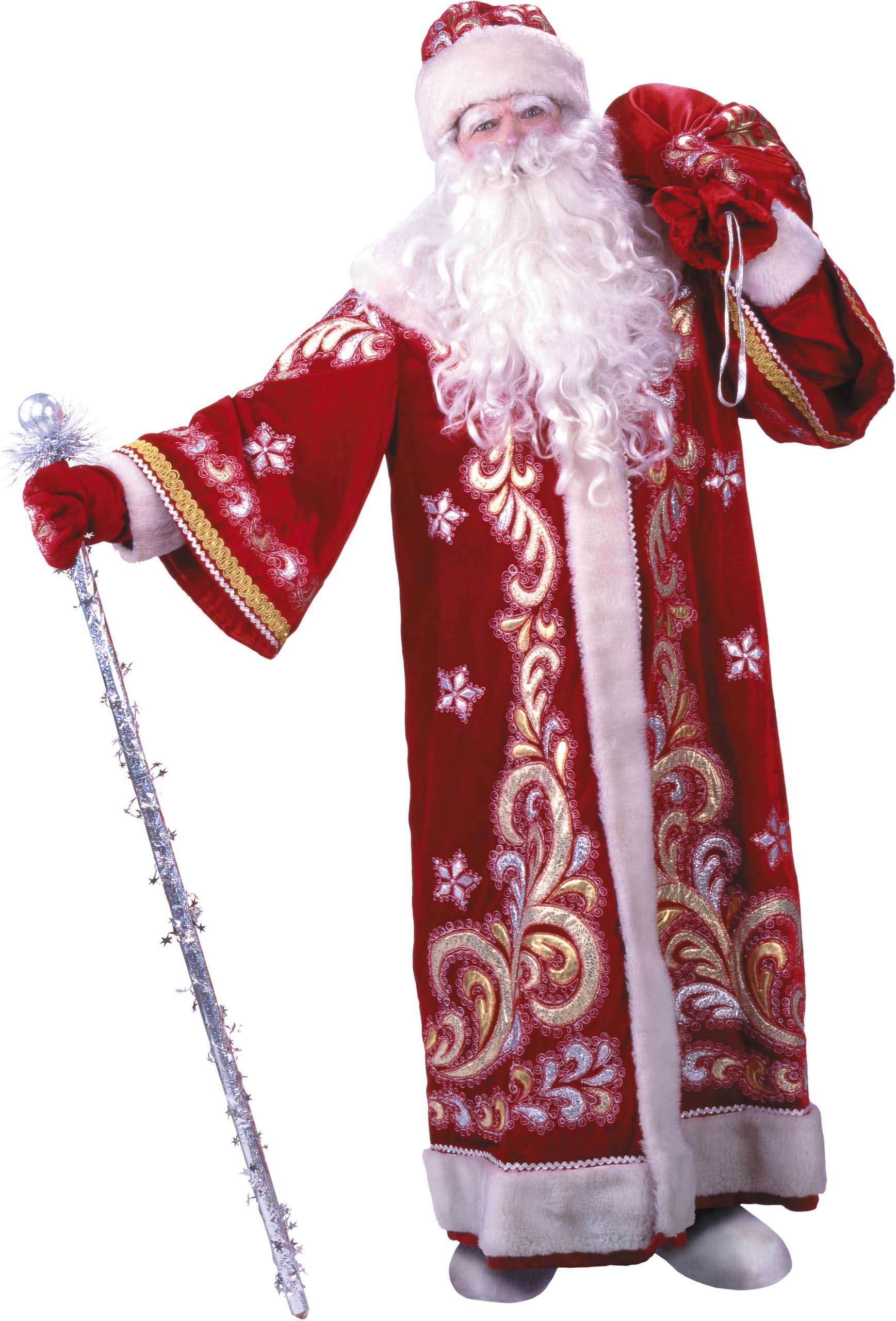 Grandfather Frost, Santa Claus and Snow Maiden 2 Дед Мороз, Санта Клаус, Снегурочка и новогодние...