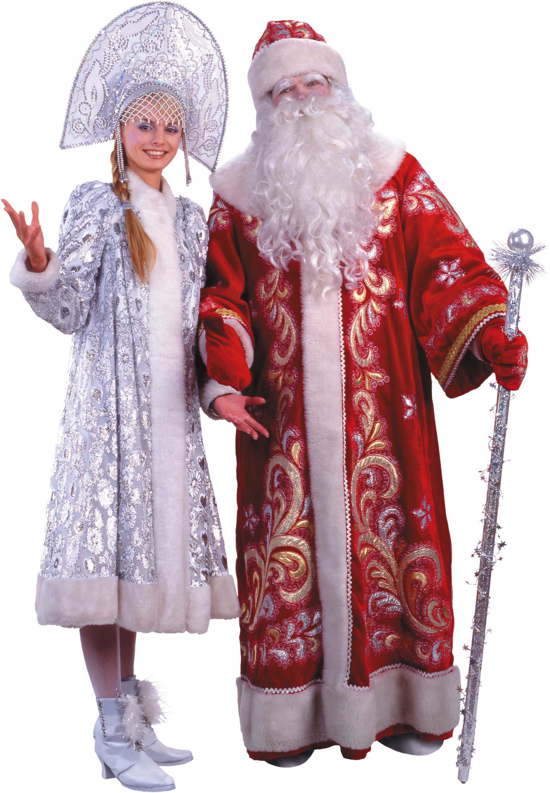 Праздники Новый год Дед Мороз и Снегурочка: http://fon1.ru/load/82-1-0-11571