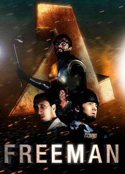 Халф-Лайф: Знакомство с Фрименом / Enter the Freeman: Half-Life Film (2012) HDRip