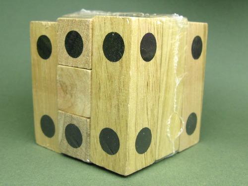 Занимательные головоломки №22 Игральный кубик фото, обсуждение