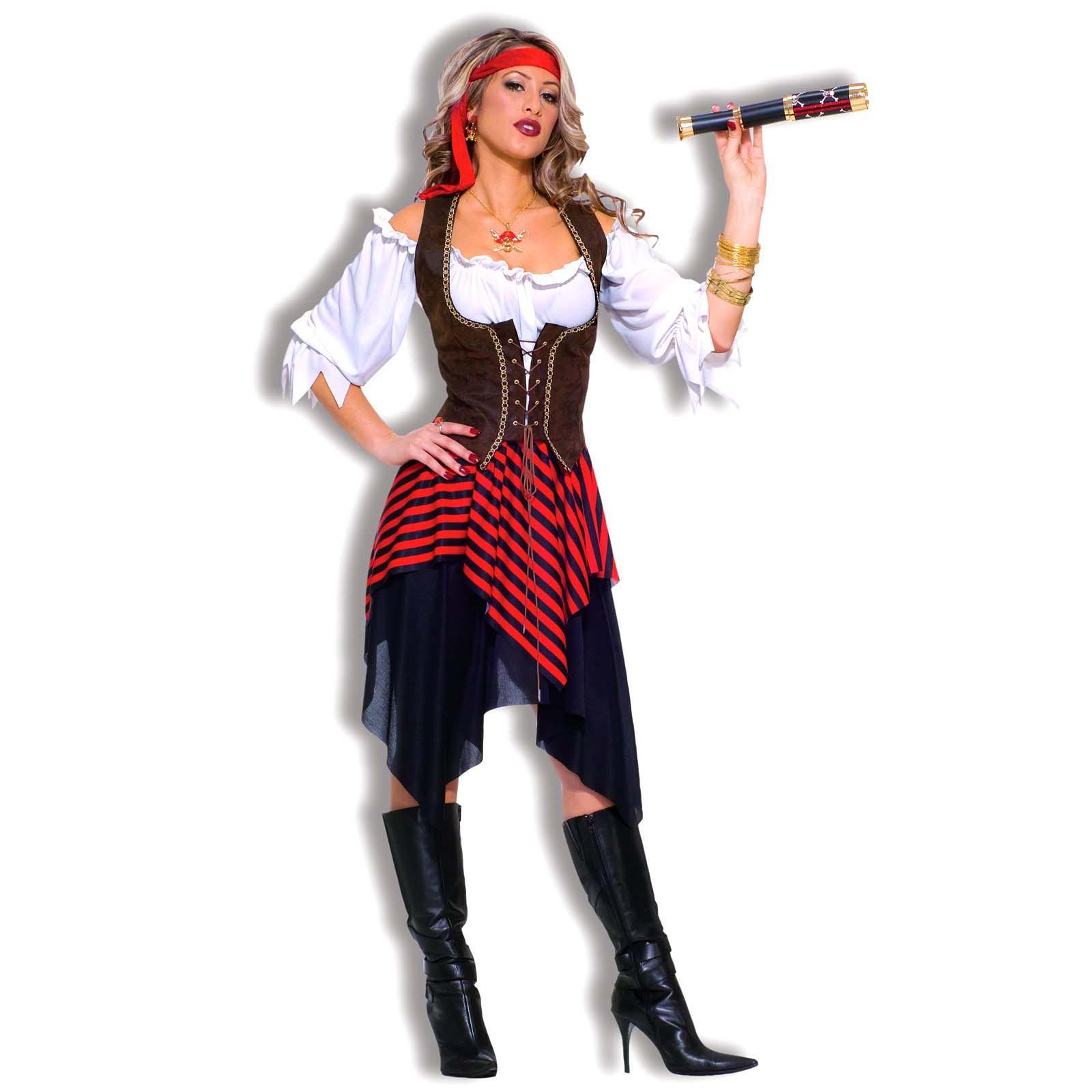 Пиратская вечеринка прическа