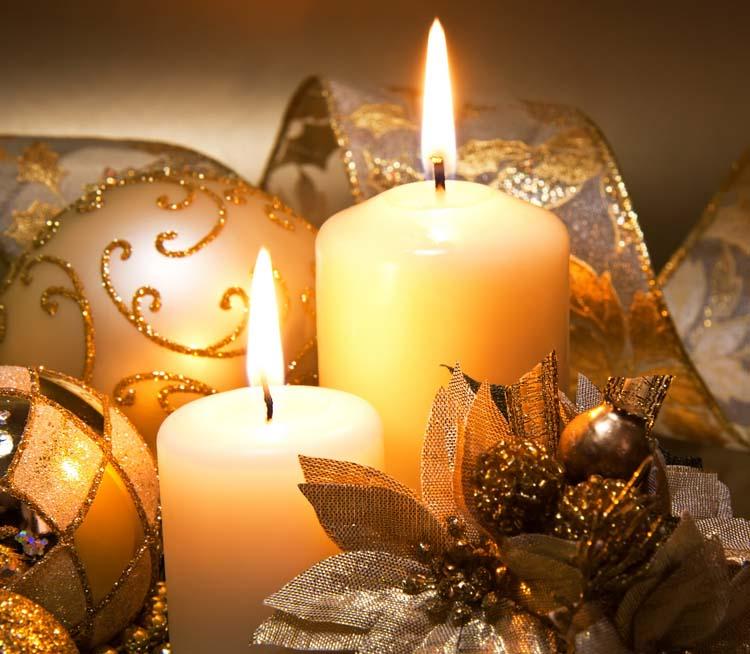 Новый год Новогодние свечи Картинки