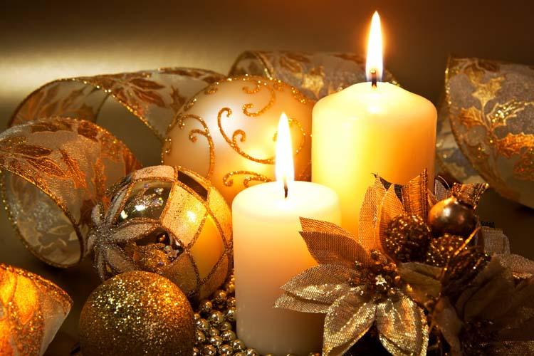Новый год Новогодние свечи Картинки Обои рабочий стол