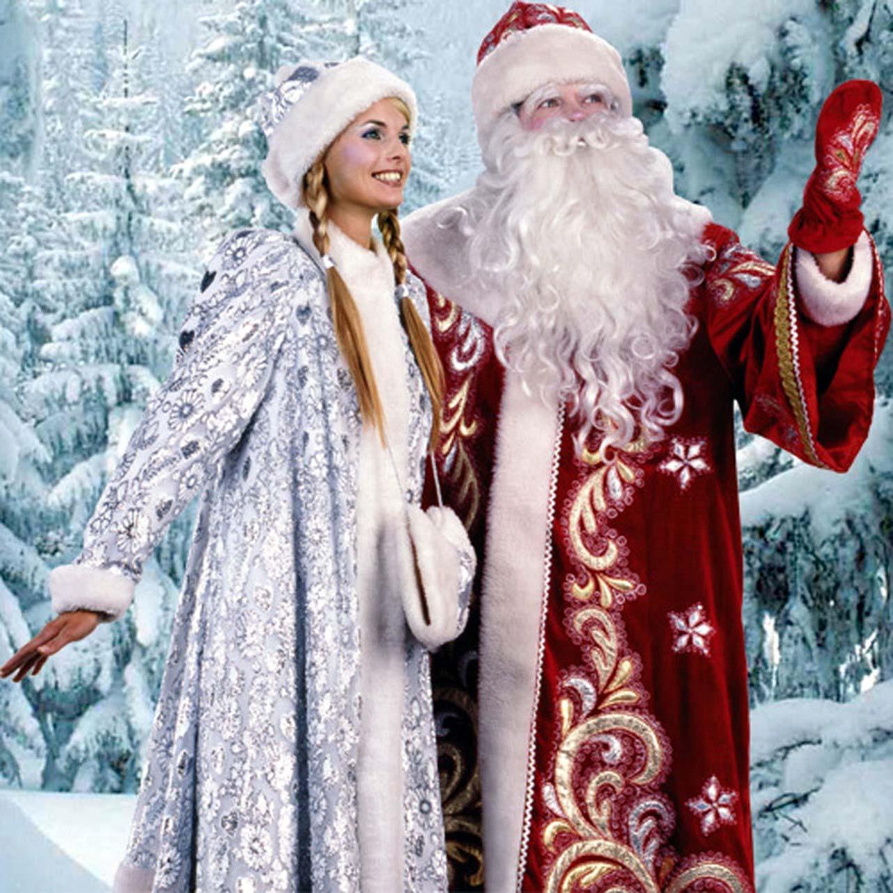 ... год Дед Мороз и Снегурочка Картинки: fon1.ru/load/82-1-0-13917