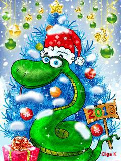 Анимация Новый год 2013 Анимационные Анимированные Картинки gif