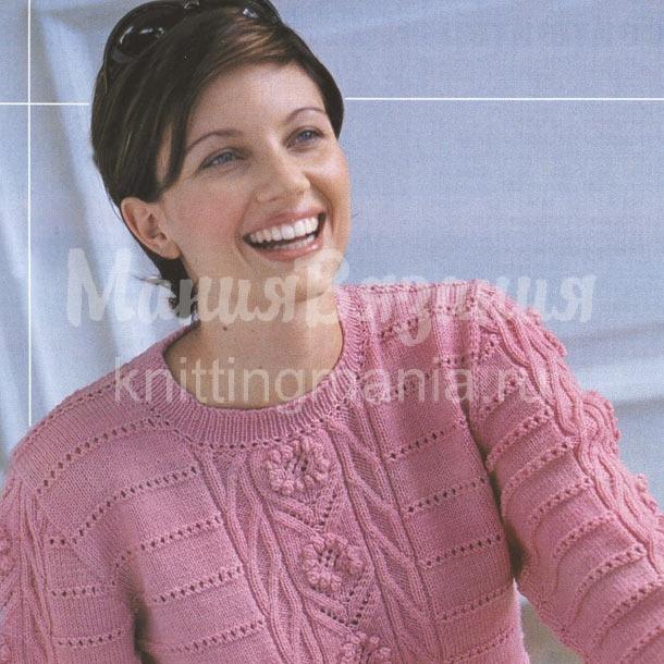 <схемы вязания спицами женских