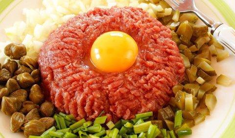 сырое мясо по татарски рецепт с фото