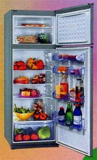 Применение озонатора Тяньши для устранения в холодильнике неприятных запахов.