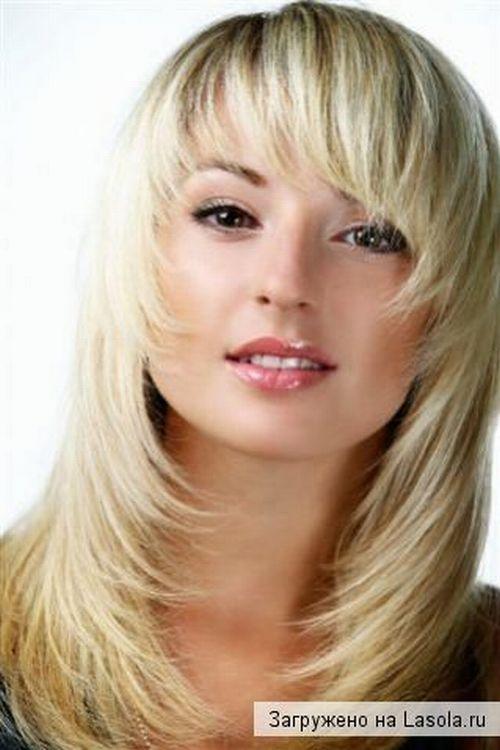 Стрижки на длинные волосы фото с косой