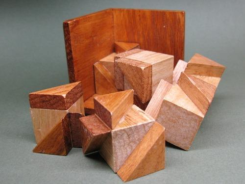 Занимательные головоломки №27 Дьявольский куб фото, обсуждение