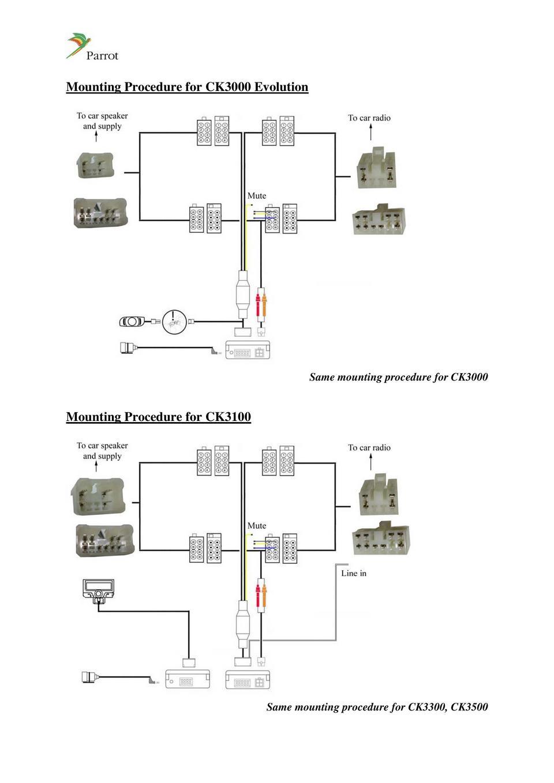 Toyota 86120-60510 схема подключения