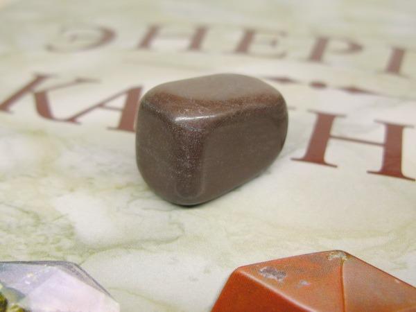 Энергия камней №110 Кофейная яшма (окатанный камень) фото, обсуждение