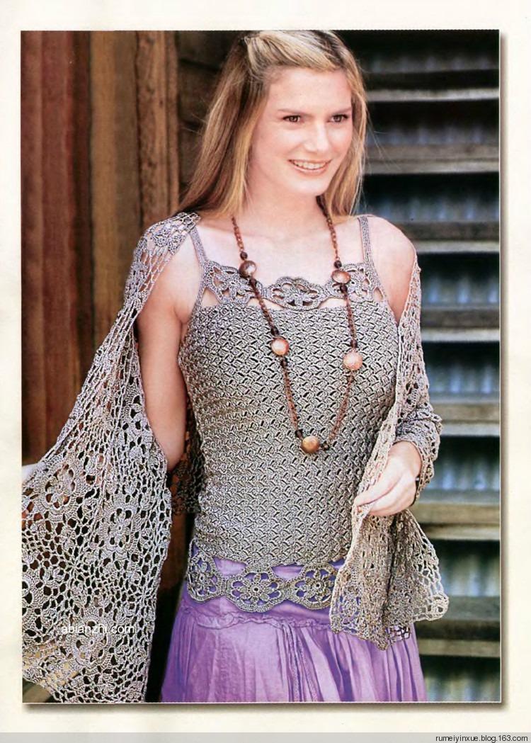 Главная Вязание спицами Жакеты, кофточки, жилеты, болеро, туники схемы и описания для них, большой выбор летних и