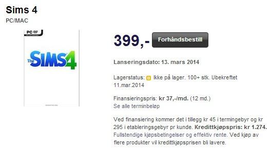 цена и дата выхода The Sims 4