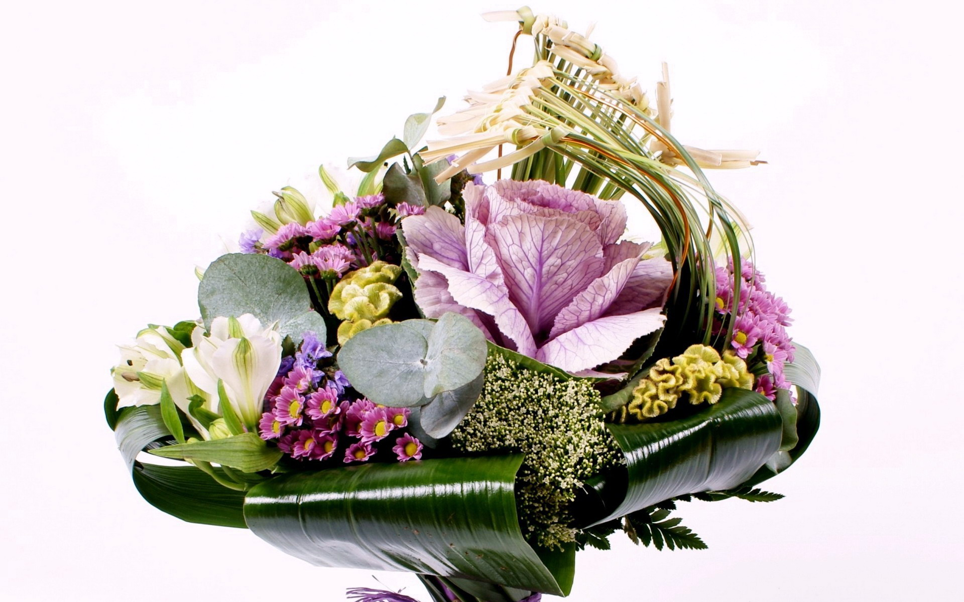 Композиции из цветов букетов фото и название