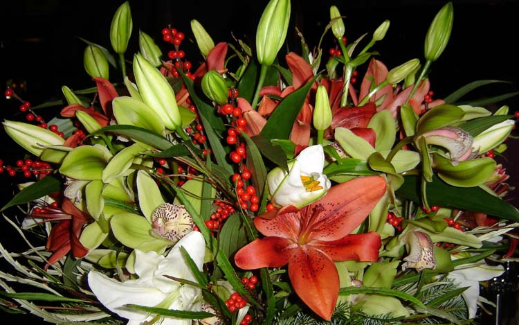 Цветы букеты обои рабочий стол