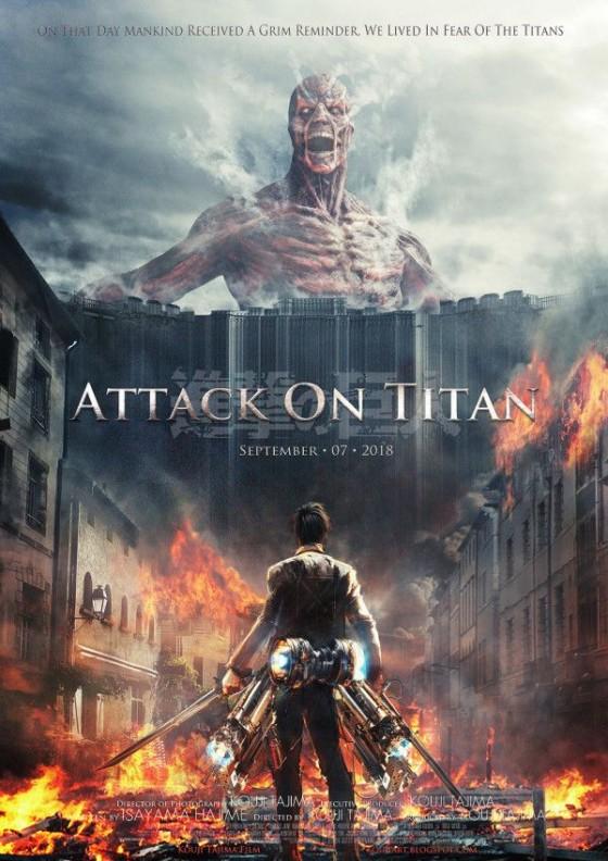 Трейлер к фильму  Attack on Titan