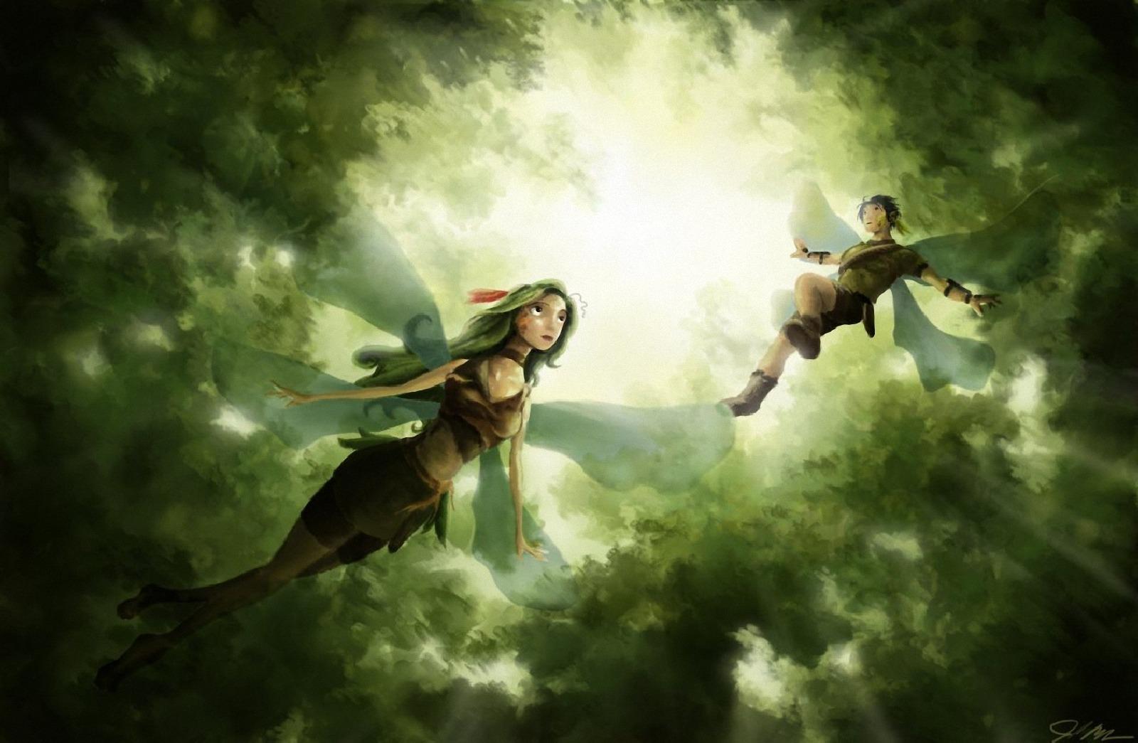 Fantasy fairy art cartoon streaming