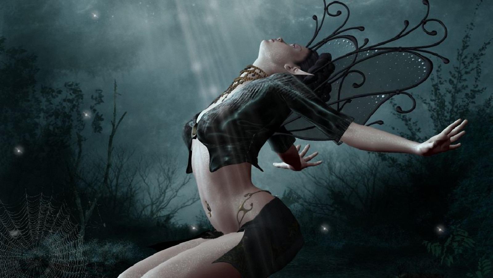 Фото девушка в паутине, Фото: Девушка, которая застряла в паутине Кадр из 2 фотография