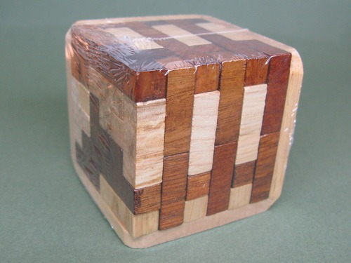Занимательные головоломки №34 Разборный куб