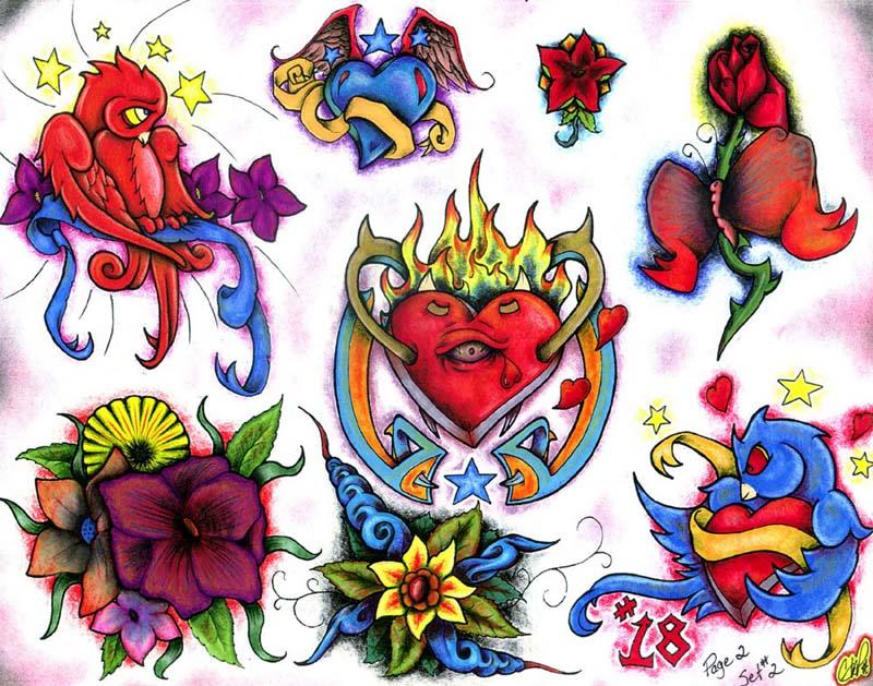 Фото картинок эскизов татуировок