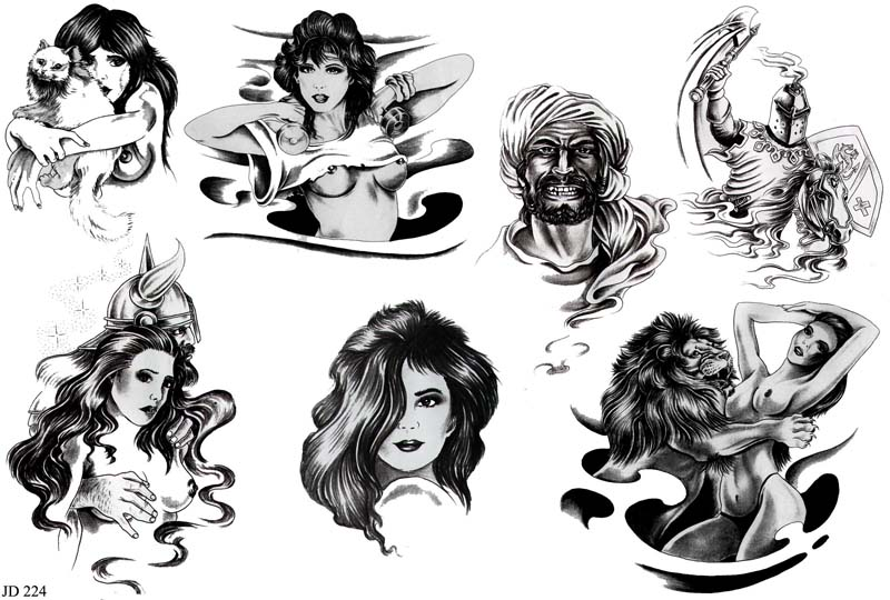 Татуировки Тату flash Картинки Рисунки Эскизы