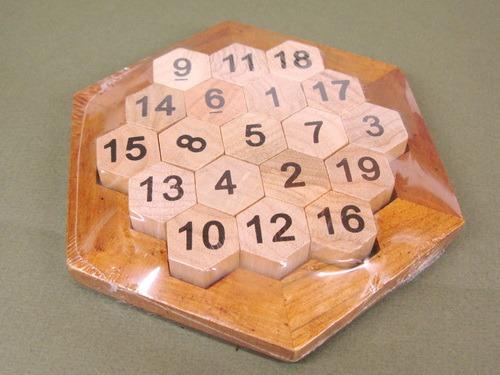Занимательные головоломки №35 Магический шестиугольник