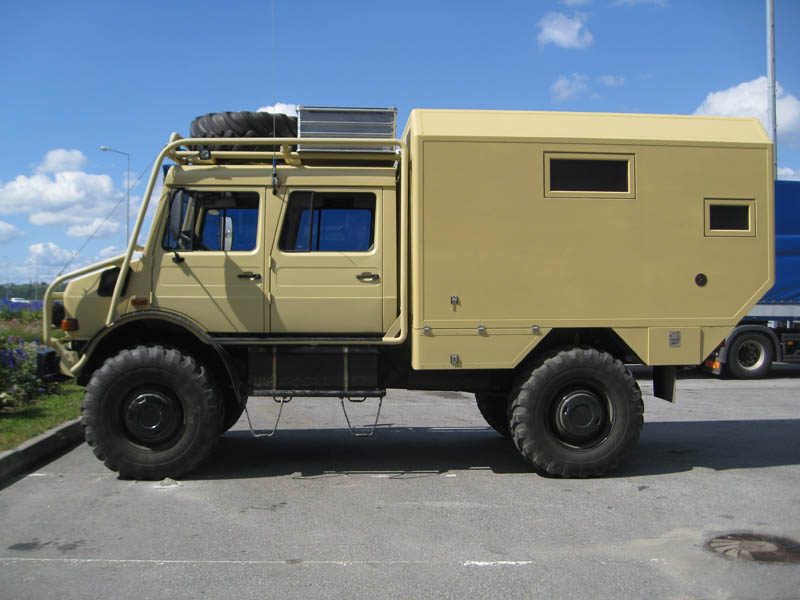 Mercedes Benz Unimog >> Unimog U1850 - Camper from Russia. - Mercedes-Benz Forum
