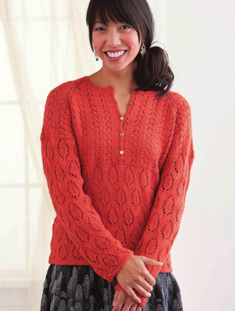 Красный Пуловер Для Женщин
