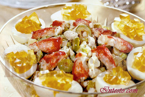 Вкусные простые рецепты салатов с фото на день рождение папы