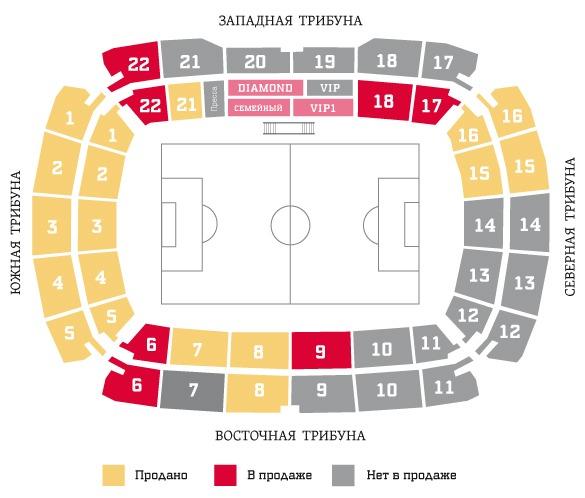 «Спартак» реализовал 12 500 абонементов
