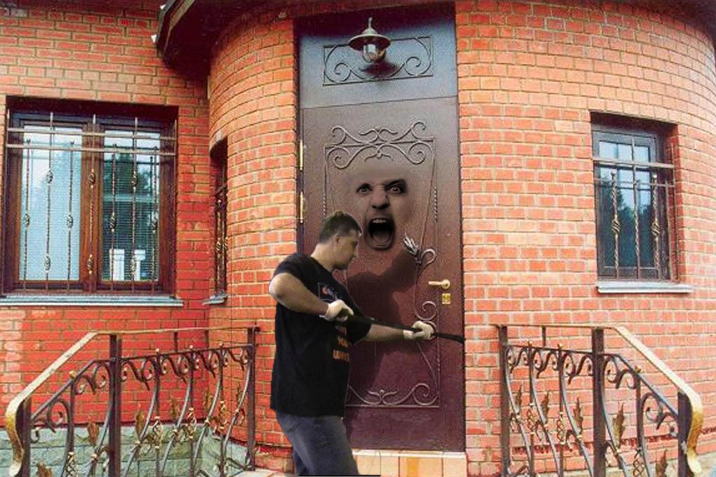 Дверь металлическая входная уличная своими руками