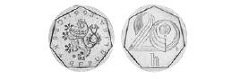 Монеты и банкноты №79 50 мунгу (Монголия), 20 геллеров (Чехия)