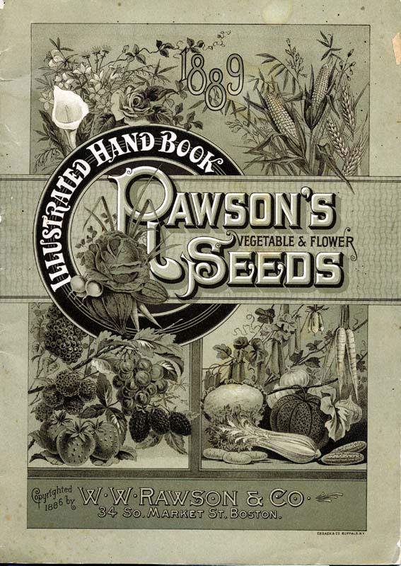 Обложки каталогов семян конец 19 - начало 20 века