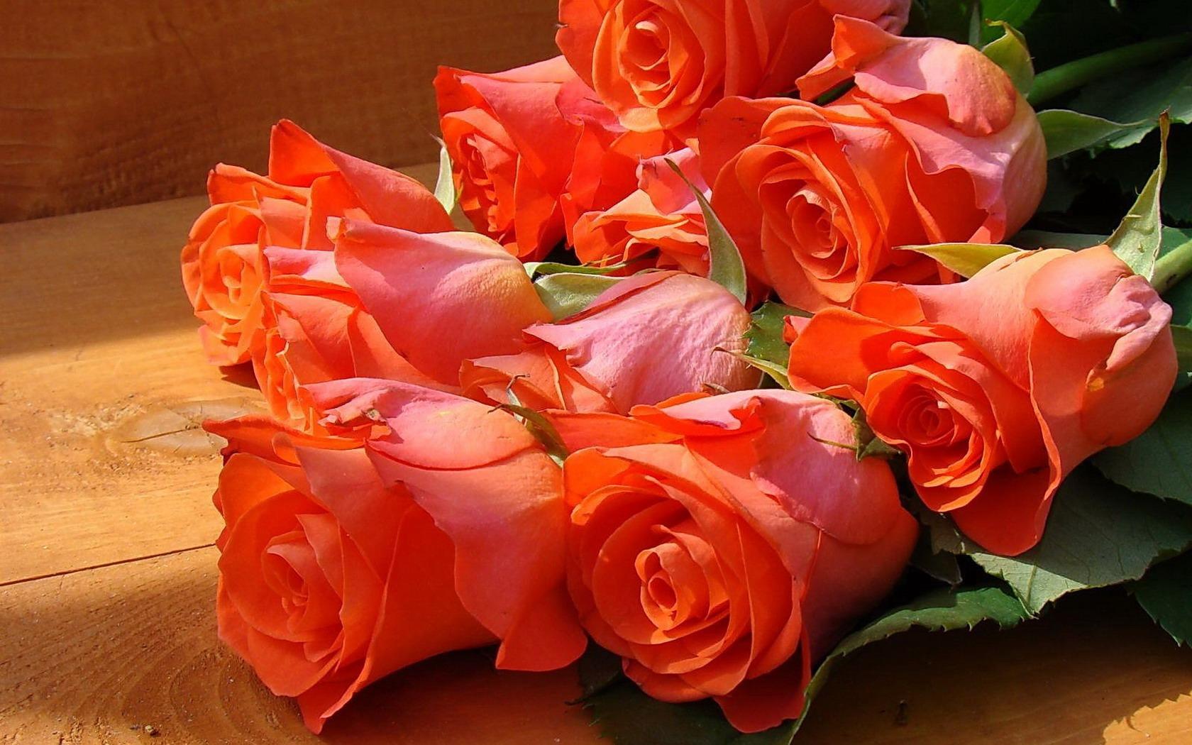 Фото с цветами и пожеланиями для любимой