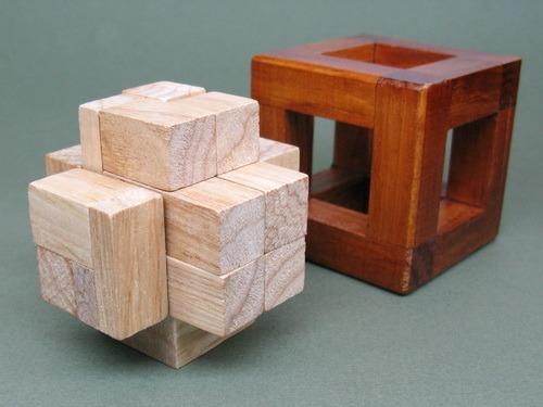 Занимательные головоломки №41 Кубы в кубе