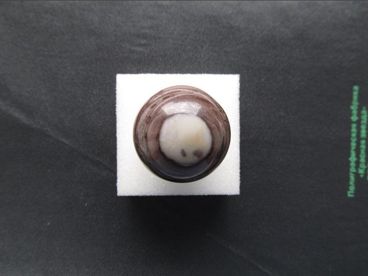 Энергия камней № 106 Полосчатая яшма (шар) фото, обсуждение