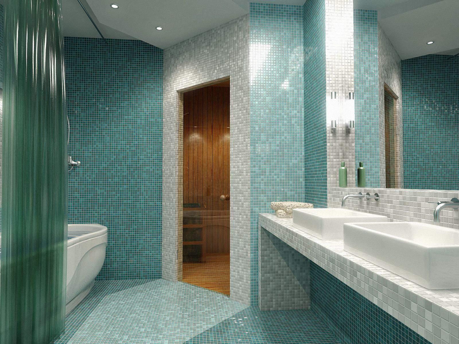 Примеры дизайны ванных комнат