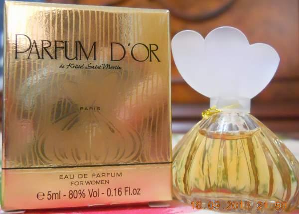 "Парфюм №19 - ""Parfum D'or"" от Krystel Saint Martini"""