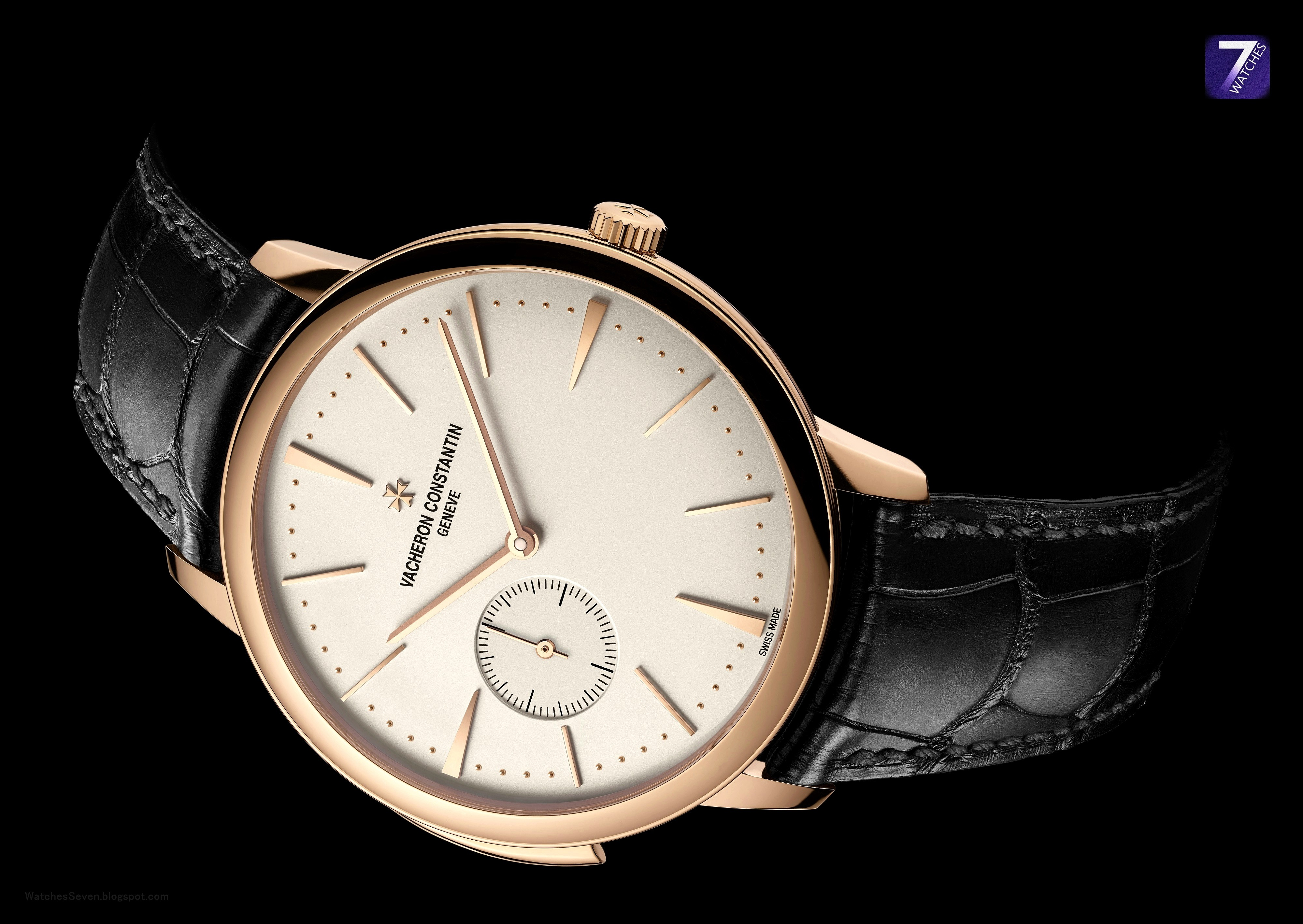 Watches 7 vacheron constantin traditionnelle platinum ultra thin automatic for Vacheron constantin