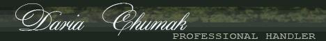 PROFESSIONAL HANDLER DARIA CHUMAK width=